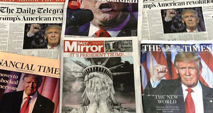 Okładki brytyjskich gazet