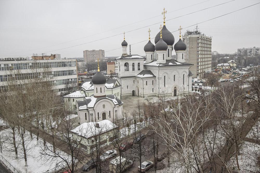 W odróżnieniu od wszystkich przedstawionych świątyń cerkiew Ofiarowania Najświętszej Maryi Panny jest nowoczesną budową. Powstała między 2006 i 2010 rokiem na południowym wschodzie Moskwy.