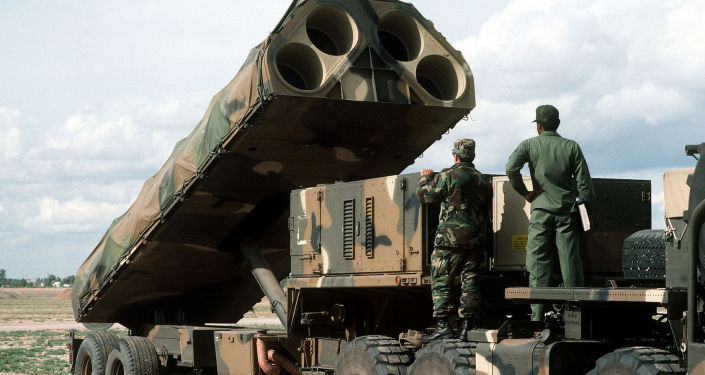 Amerykańska mobilna lądowa wyrzutnia do transportu, podnoszenia i odpalania pocisków rakietowych