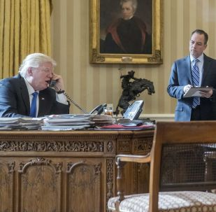 Rozmowa telefoniczna między prezydentem USA Donaldem Trumpem a rosyjskim prezydentem Władimirem Putinem