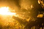 Ukraińskie wojska ostrzeliwują pozycje powstańców w rejonie Awdijiwki