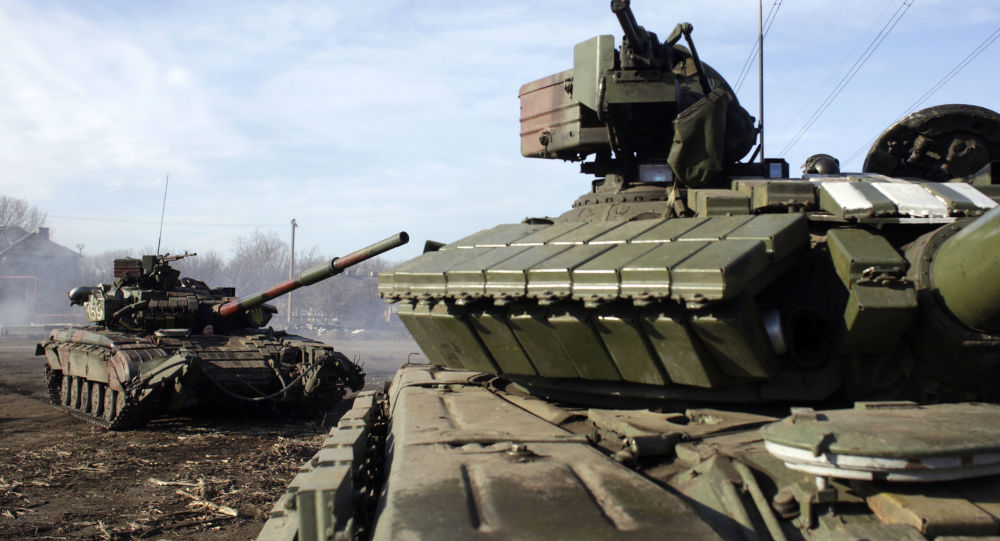 Ukraiński czołg