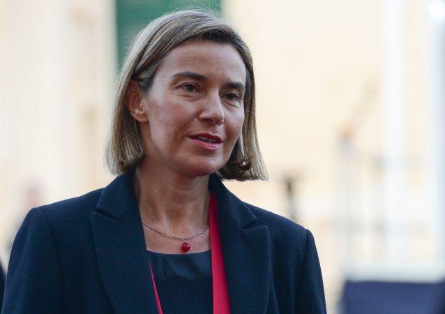 Szefowa europejskiej dyplomacji Federica Mogherinin
