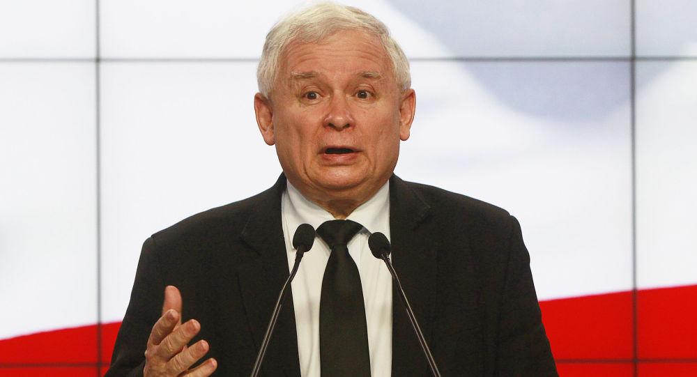 Lider partii Prawo i sprawiedliwość Jarosław Kaczyński