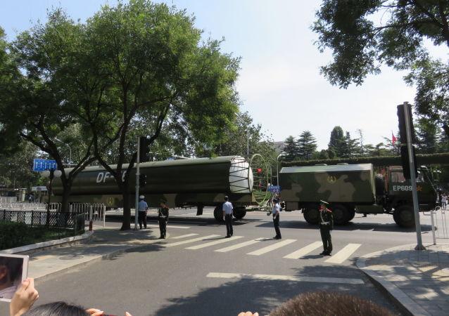 Chiński międzykontynentalny pocisk balistyczny DF-5B