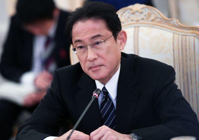 Minister spraw zagranicznych Japonii Fumio Kishida w Moskwie