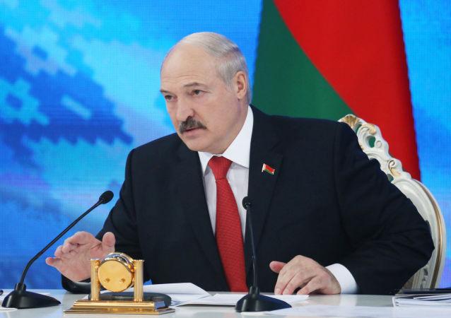 Prezydent Białorusi Aleksander Łukaszenko