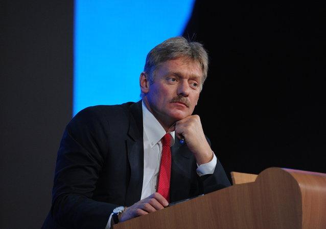 Recznik prasowy prezydenta Władimira Putina Dmitrij Pieskow