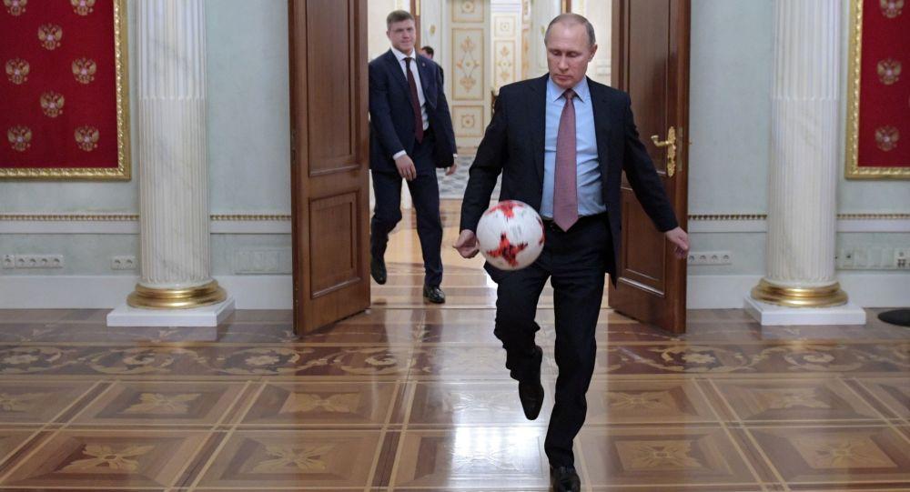 Władimir Putin w Kremlu