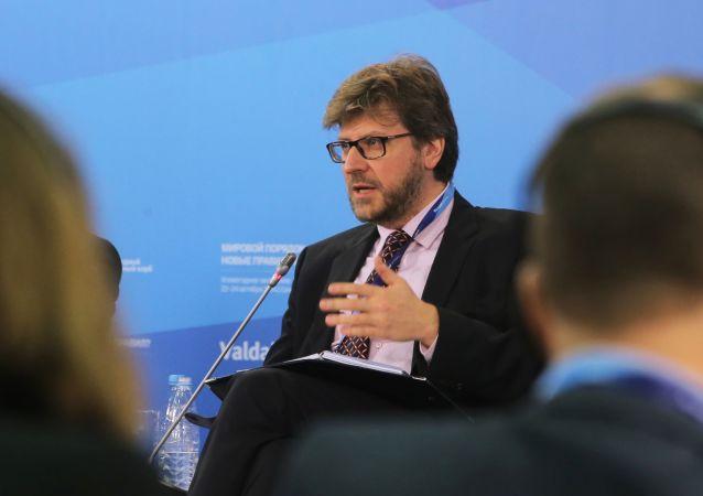 """Redaktor naczelny czasopisma """"Rosja w globalnej polityce Fiodor Łukjanow"""