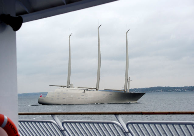 Jacht Sailing Yacht A rosyjskiego biznesmana Andrieja Mielniczenko