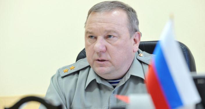 Dowódca Wojsk Powietrzno-Desantowych Rosji Władimir Szamanow