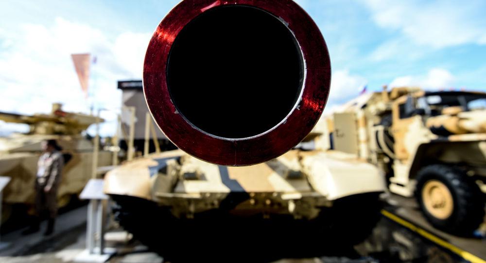Czołg T-90MS  na Międzynarodowym Forum Sprzętu Wojskowego Armia-2016