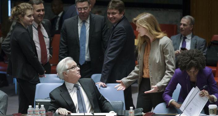 Ambasador Rosji przy ONZ Witalij Czurkin