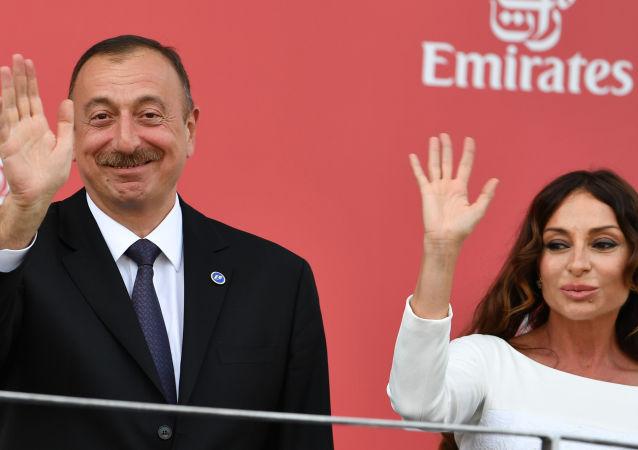 Prezydent Azerbejdżanu Ilham Alijew powołał we wtorek swoją małżonkę Mehriban na urząd pierwszego wiceprezydenta kraju