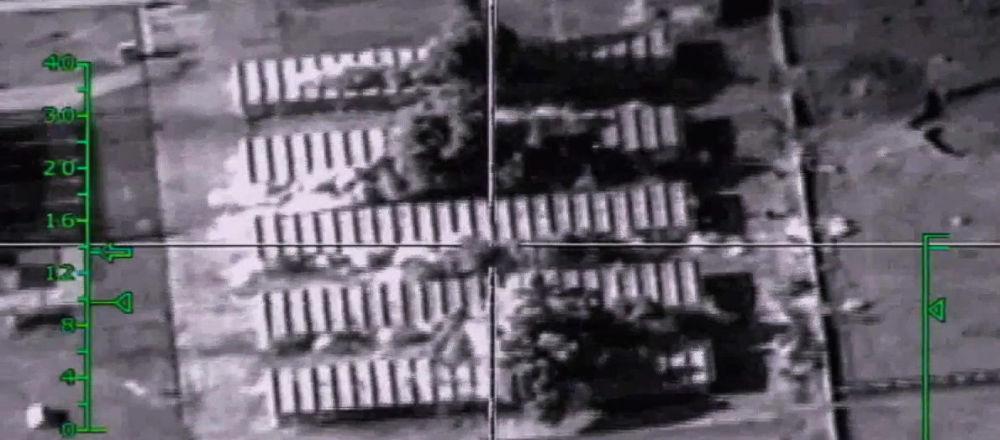 Bombardowania pozycji terrorystów przez rosyjskie siły powietrzne w Syrii
