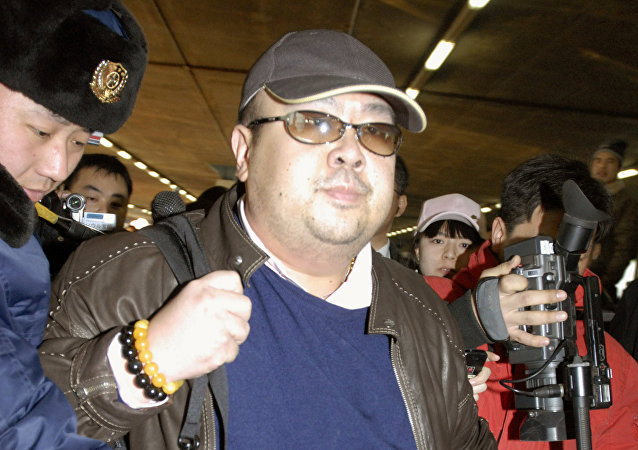 Kim Jong Nam na lotnisku w Pekinie, rok 2007