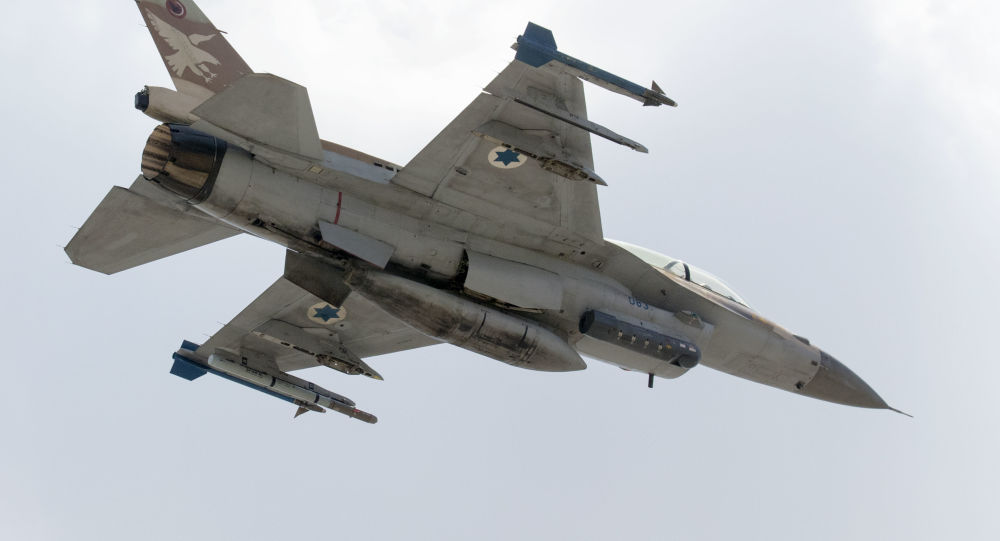 Izraelski myśliwiec F-16 D