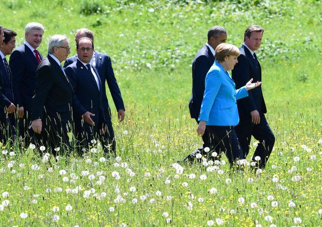 Kraje G7 spacerują przed szczytem
