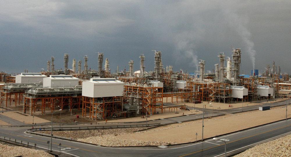 Iran, rafineria gazu