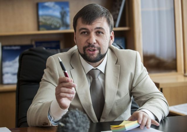 Przedstawiciel DRL na mińskich rozmowach Denis Puszylin