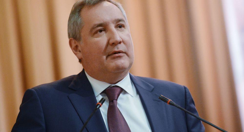 Rosyjski wicepremier Dmitrij Rogozin
