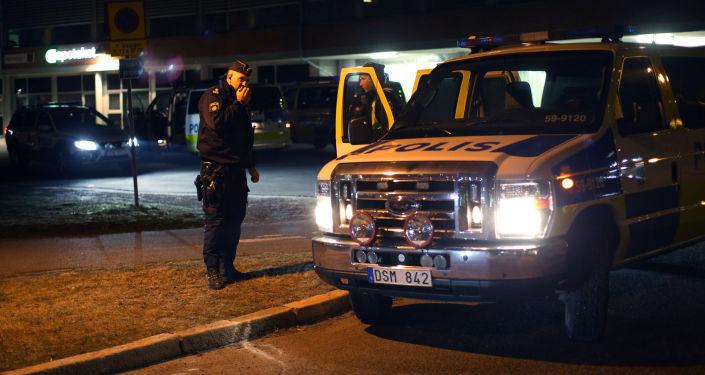 Szwedzka policja
