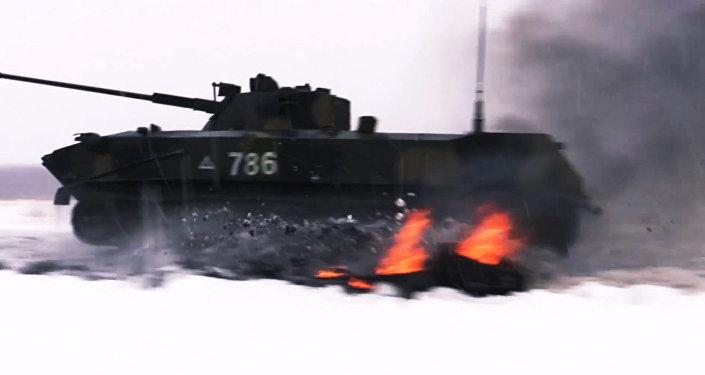 """Przez ogień i śnieg – eliminacje do zawodów """"Pluton Desantowy"""""""