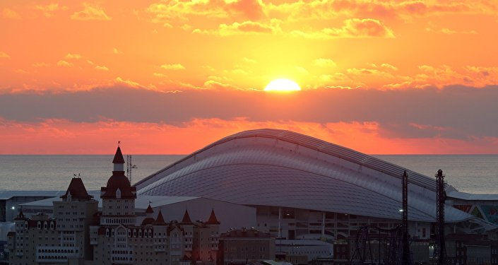 Stadion Fiszt w Soczi o pojemności 47 700 osób