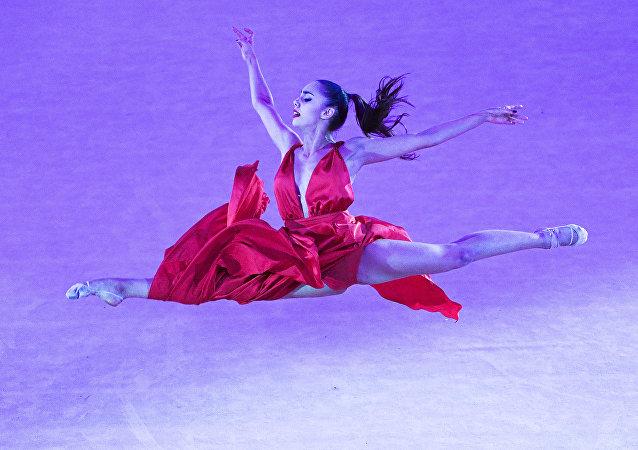 Rosyjska gimnastka Margaryta Mamun