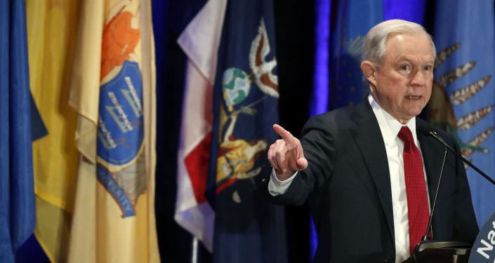 Minister sprawiedliwości USA i prokurator generalny Jeff Sessions