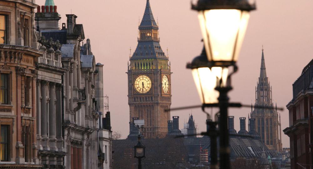 Widok na Big Ben z Placu Trafalgarskiego, Londyn