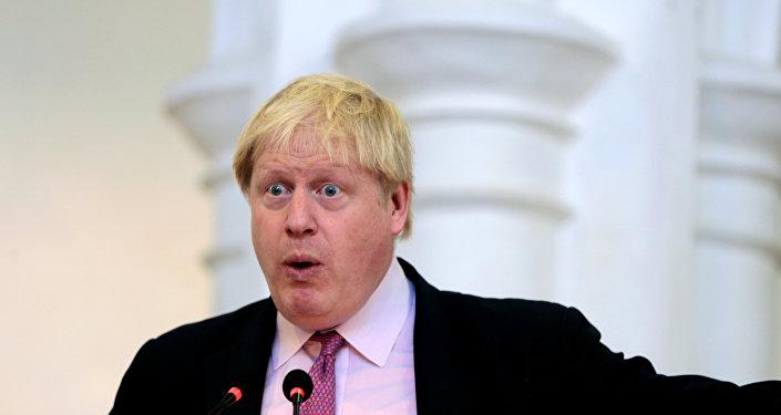 Szef MSZ Wielkiej Brytanii Boris Johnson