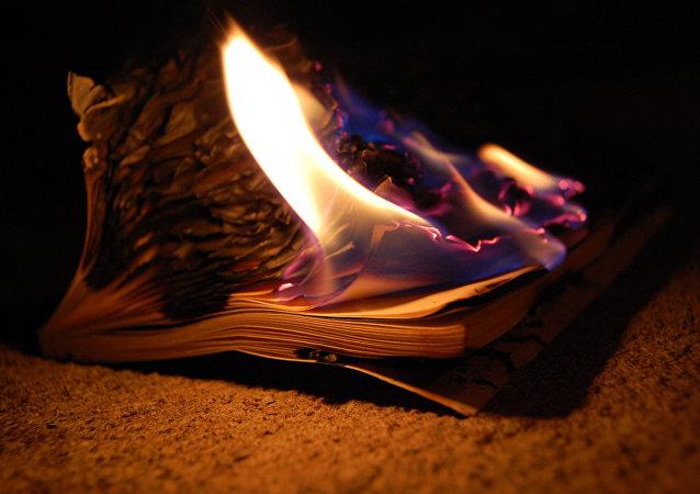Płonąca książka
