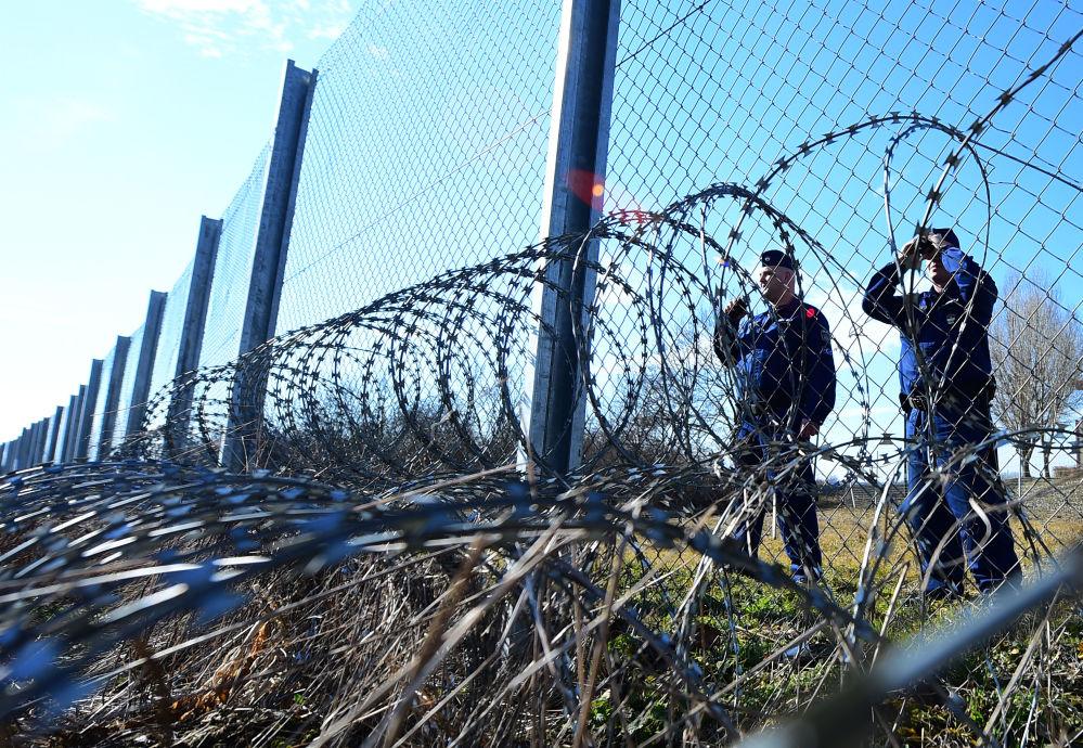 Granica między Bułgarią i Chorwacją