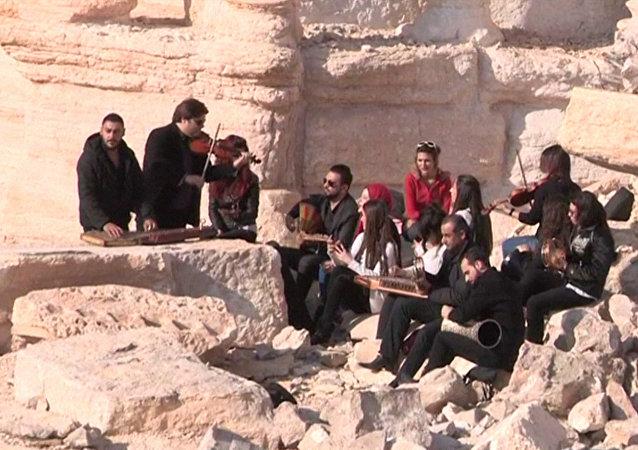 Starożytna Palmira ożyła