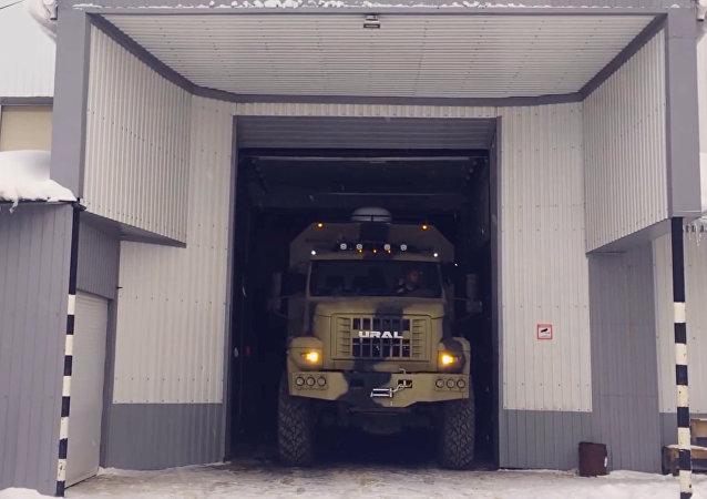 Rosyjska potęga Ural NEXT - dom na kołach!