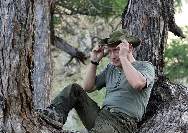 Władimir Putin na urlopie, Ałtaj
