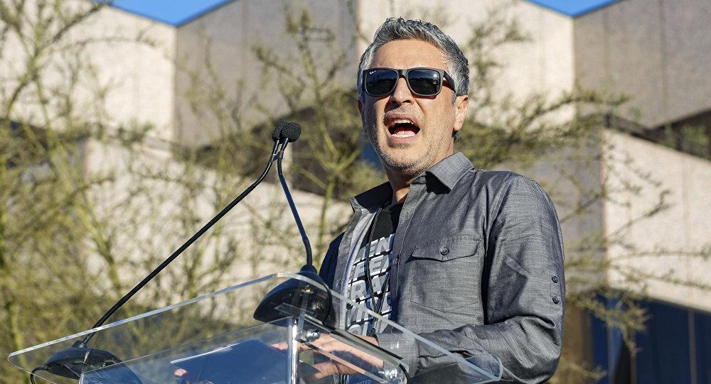 Prowadzący CNN, amerykański pisarz Reza Aslan