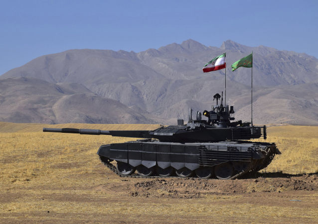 Irański czołg Karrar