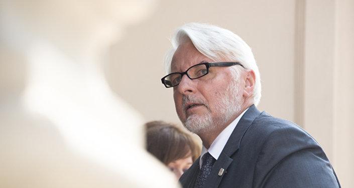 Szef MSZ RP Witold Waszczykowski