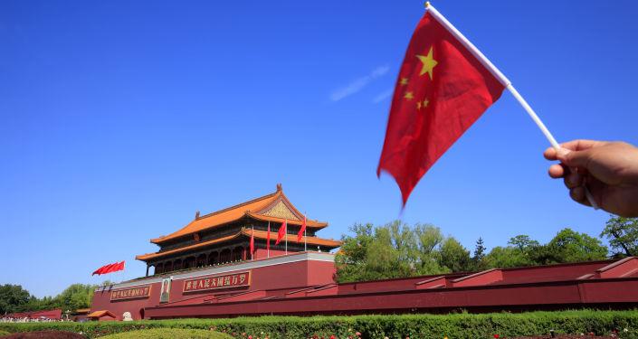Plac Niebiańskiego Spokoju w Pekinie