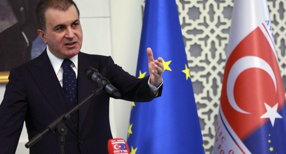 Turecki minister ds. UE Omer Celik