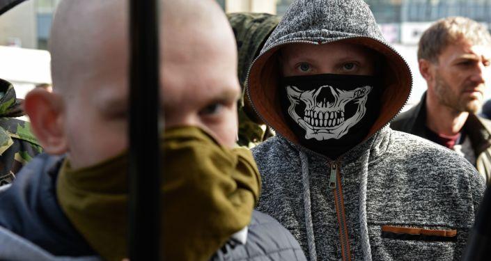 Akcja radykałów w Kijowie