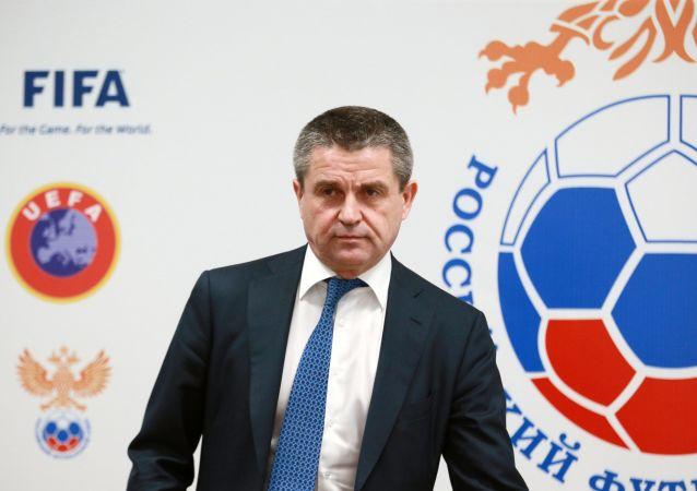 Przewodniczący Komitetu Rosyjskiego Związku Piłki Nożnej ds. bezpieczeństwa i współpracy z fanami Władimir Markin