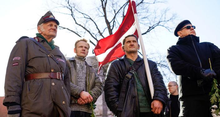 Każdego roku w Rydze 16 marca odbywa się marszu łotewskich weteranów oddziałów Waffen SS