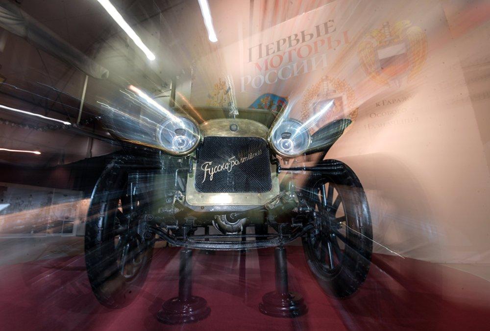 """Pierwsze wspaniałe samochody w Rosji produkowała Rosyjsko-Bałtycka Fabryka Wagonowa w Rydze. Samochód """"Rosyjsko-Bałtycki"""" Typ  К12/20 (1911 roku) z kolekcji Muzeum Politechnicznego to jedyny na świecie zachowany egzemplarz tej legendarnej marki."""