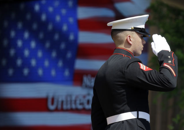 Oficer piechoty morskiej USA