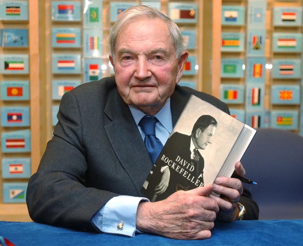 """W 2002 roku David Rockefeller napisał autobiograficzną książkę """"Bankier w XX wieku. Pamiętniki"""" (David Rockefeller: Memoirs)."""
