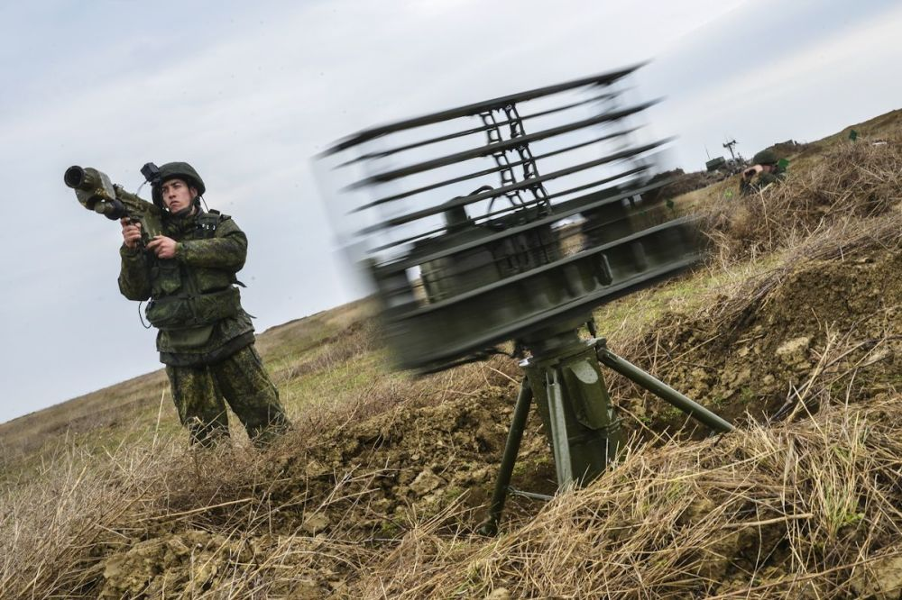 Manewry wojskowe na Krymie